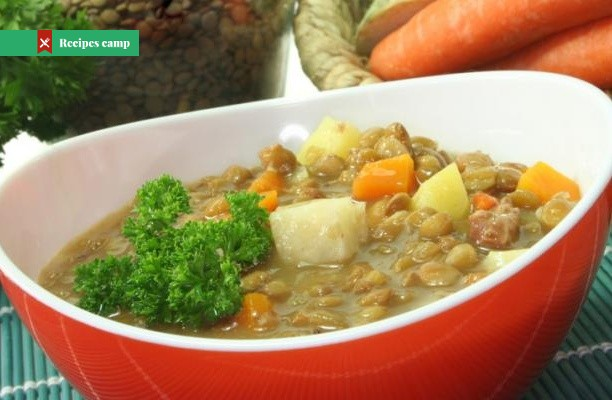 Recipe  Spicy Root & Lentil Casserole
