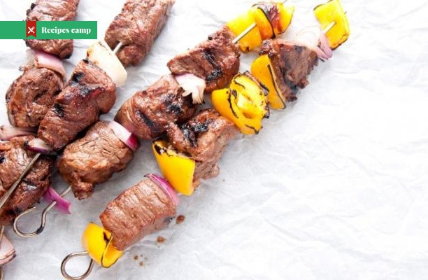 Recipe  Steak Skewers with Chimichurri Sauce