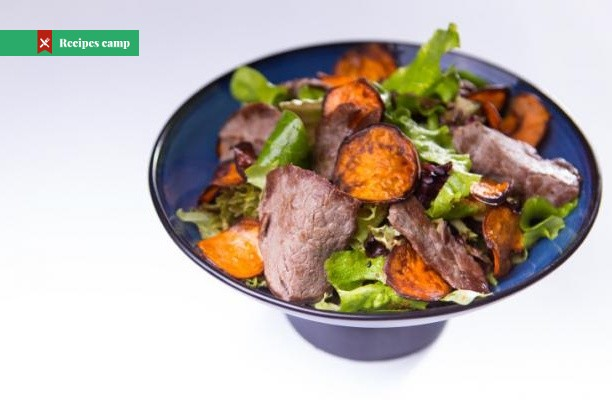 Recipe  Steak, Sweet Potato, and Blue Cheese Salad