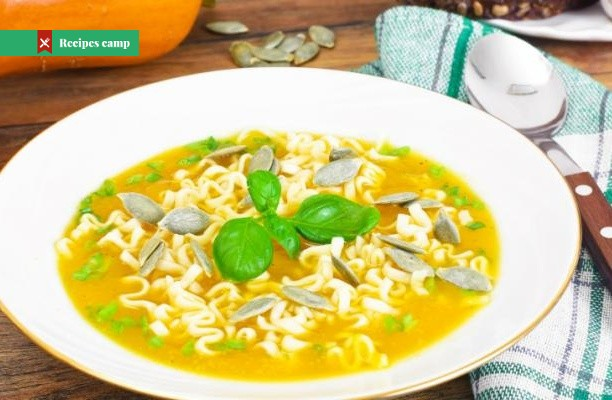 Recipe  Summer Squash Soup with Pasta and Parmesan