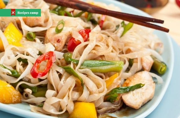 Recipe  Vietnamese-Style Chicken and Noodle Salad