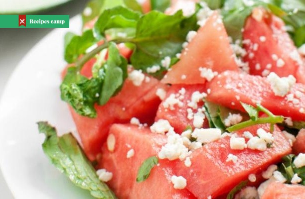 Recipe  Watermelon Goat Cheese Salad