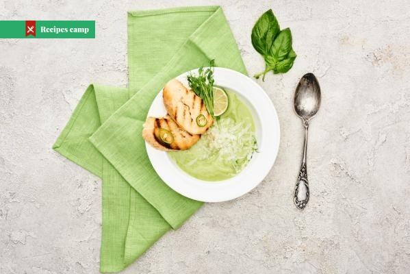 Recipe  Zucchini Soup with Parmesan and White Wine