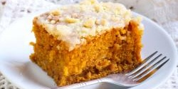 Healthy 3-Ingredient Pumpkin Cake Bars