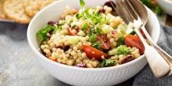 Roasted Fennel and Israeli Cous Cous Salad