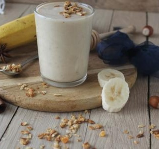 Banana, Honey & Hazelnut smoothie
