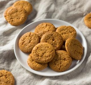 Big Soft Ginger Cookies