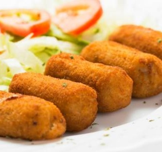 Broccoli & potato croquettes