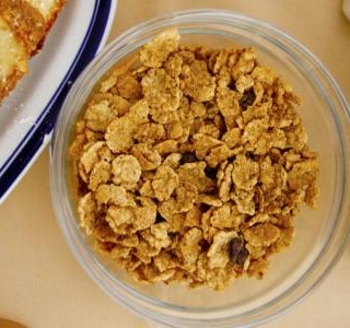 Brown Butter Corn Flake Cake
