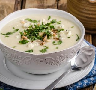 Cauliflower and Stilton Soup