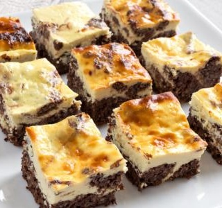Cheesecake Truffle Brownies