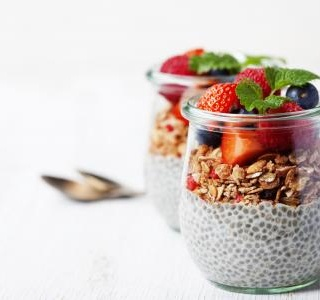 Chia Pudding - Healthy Snack