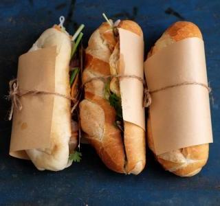 Classic Banh Mi Sandwich