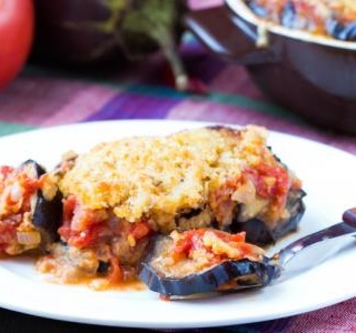 Classic Eggplant Parm Stacks