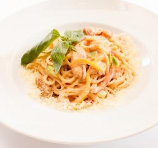Crab and Lemon Linguine