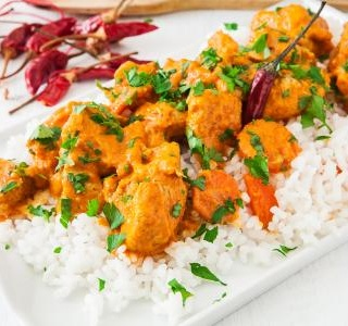 Curried Coconut Chicken