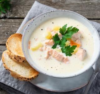Fiskesuppe - Creamy Fish Soup