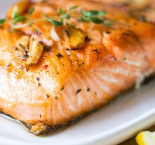 Gingered Honey Salmon