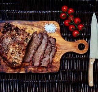 Hawaiian marinated steak