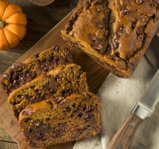 One-Bowl Greek Yogurt Pumpkin Bread