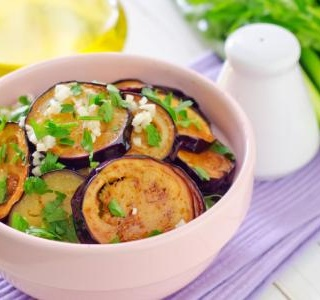 Pan-Fried Eggplant with Balsamic and Capers