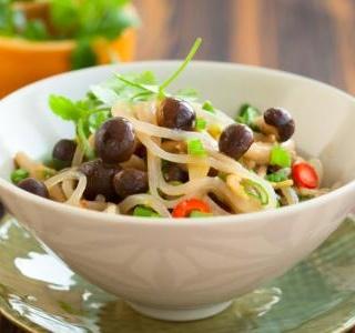 Peeping Mushroom Pasta