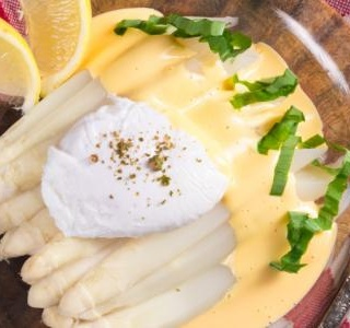 Roasted White Asparagus