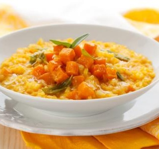 Simple squash risotto