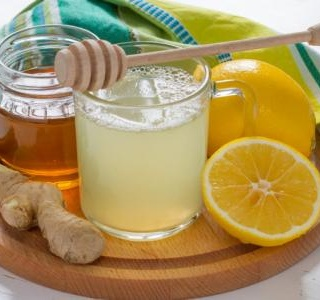 Sparkling Ginger Lemonade
