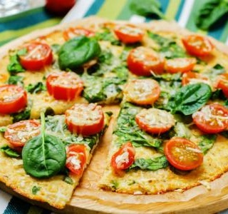 Spinach Pizza