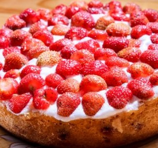 Strawberry Yogurt Shortcake