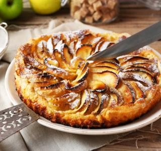 Tarte Tatin with Apples and Pears