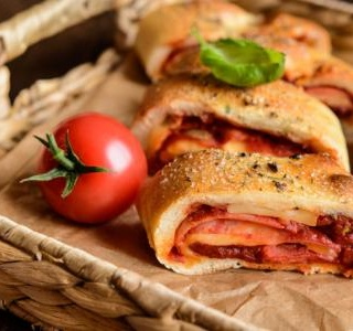 Venetian Rolled Pizza