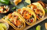 Beer Battered Shrimp Tacos with Chipotle Lime Crema