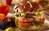 Cheddar Jalapeño Chicken Burgers