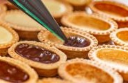 Chocolate Hazelnut Tartlets With Sea Salt