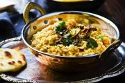 Indian red lentil dal