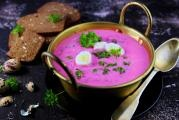 Red Cabbage Rotkohlsuppe