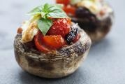 Stuffed Portobello Caprese