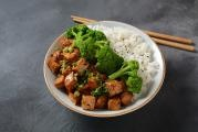 Teriyaki Tofu and Broccoli