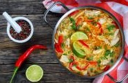 Thai Red Curry Noodle Soup